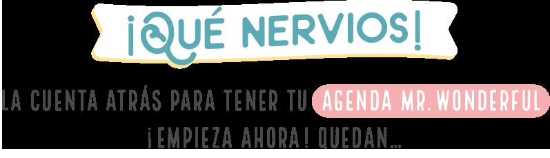 Club de la agenda mr wonderful 2017 2018 mr wonderful for Agendas 2017 mr wonderful