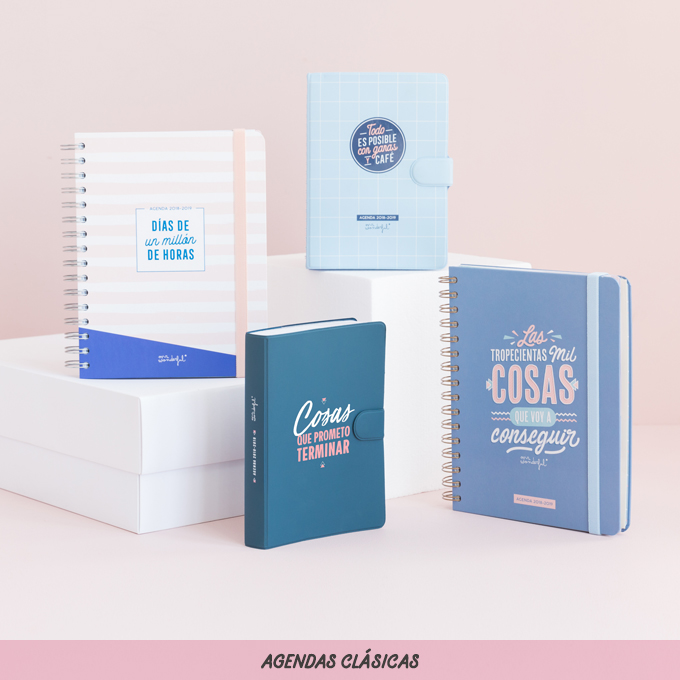 Agendas Mr Wonderful 2019 Mr Wonderful